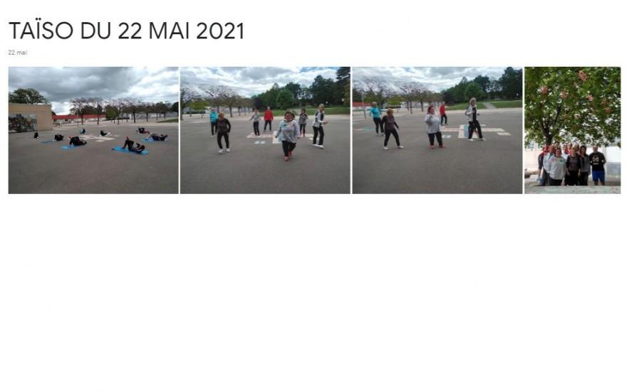 TAïSO Sport Santé , Samedi 22 Mai 2021