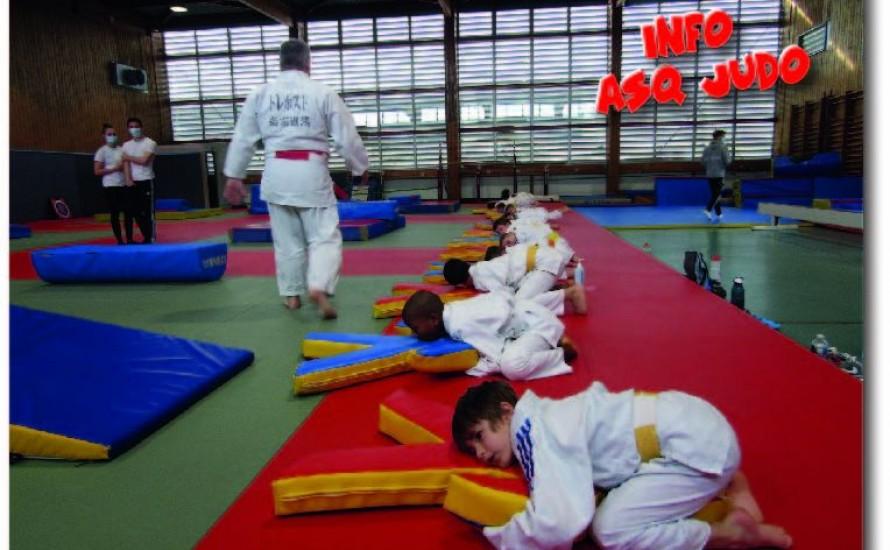 Infos judo - semaines à venir du 25 au 30 mai et après.....