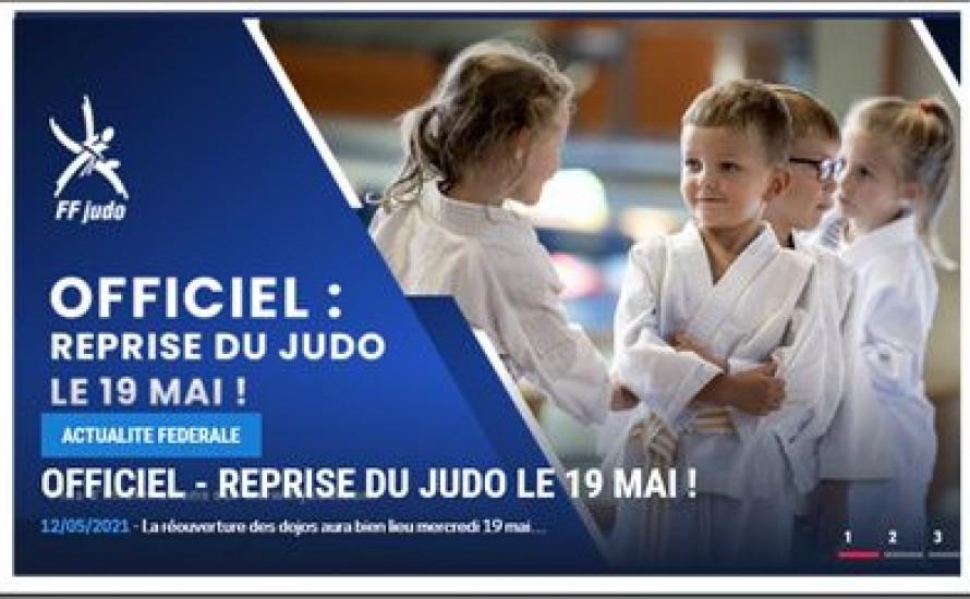 Infos judo - semaines à venir du 17 au 23 mai et après.....
